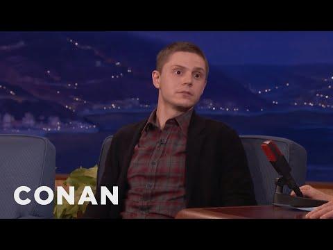 "Evan Peters On His Craziest Scene In ""American Horror Story""  - CONAN on TBS"