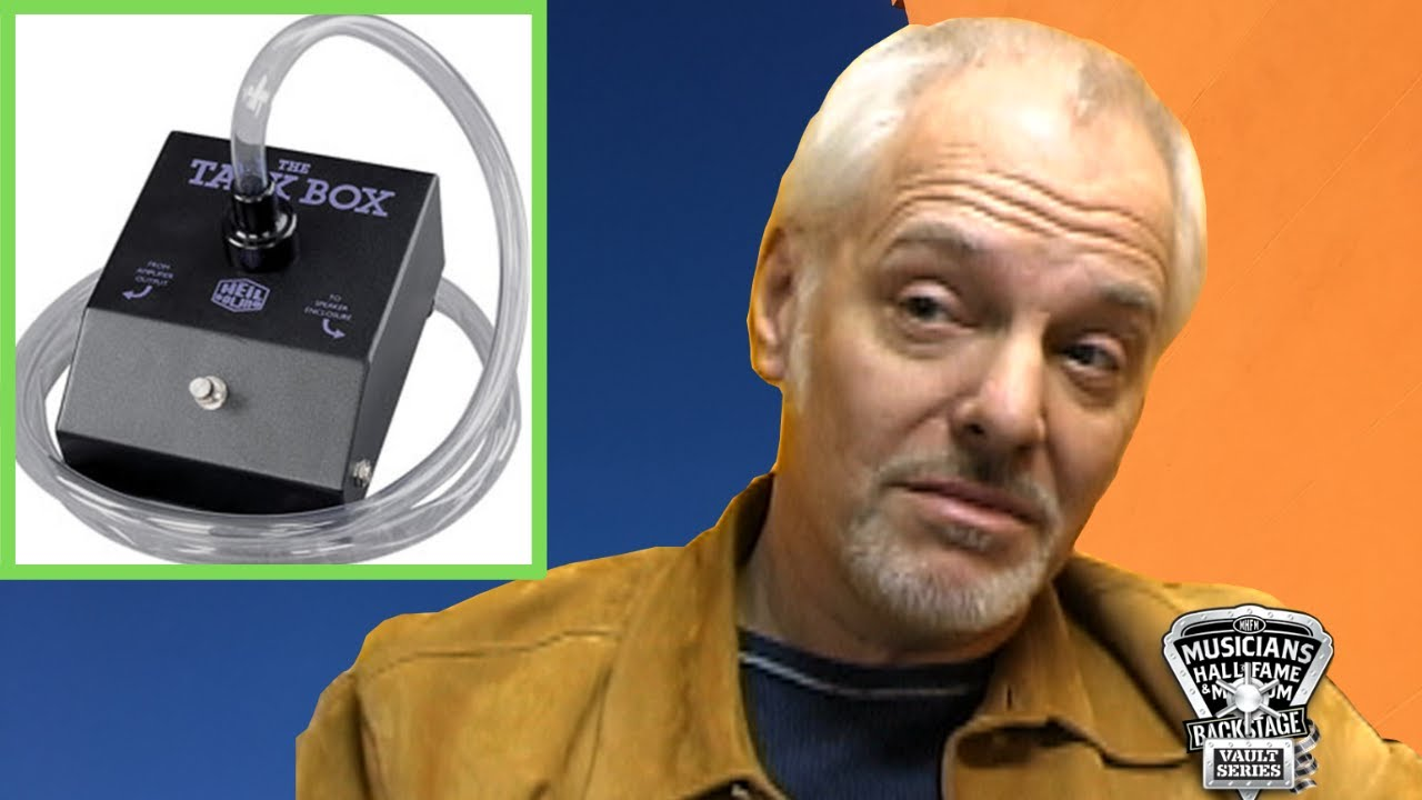 Peter Frampton - How Did He Get The Talk Box that made Him FAMOUS? - YOU DECIDE