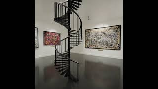 Jackson Pollock Exhibition (Not real life)