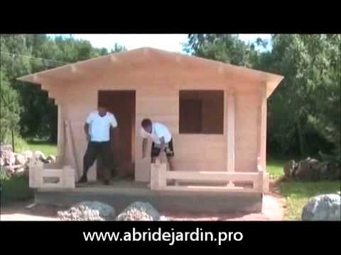 Video montage Abri de Jardin Lasitamaja - YouTube