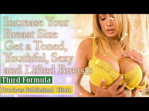 Increase Your Breast Size  - 3rd Formula [Affirmation+Frequency] - INSTANT RESULTS