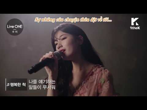 [1209][Vietsub] LIVE Suzy(수지) _ Pretending To Be Happy 행복한 척 Exclusive Live Performance!