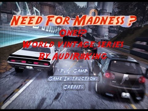 Need For Madness 1 World Vintage Series Full Walkthrough