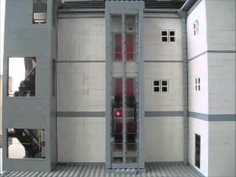 Lego Elevator Wmv Youtube