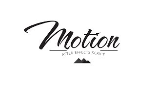 Motion - Animation Will Never Be the Same