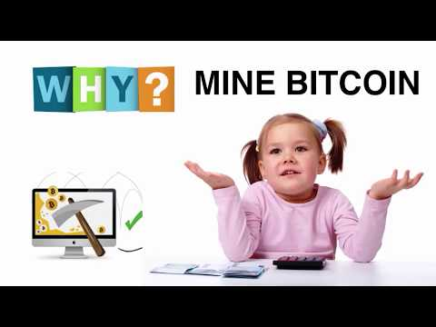 Why Mine Bitcoin when you can just buy it and hold it