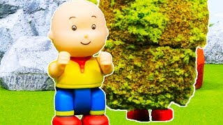 🌳 Caillou and the Strange Bush 🌳 | Funny Animated Kids show | Caillou Stop Motion