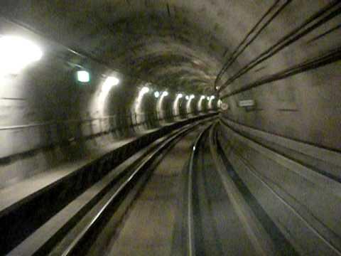 Copenhagen Subway Ride
