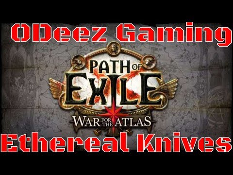 Path Of Exile 3.1 - Ethereal Knives Inquisitor Build - Starting Over - Let's Play
