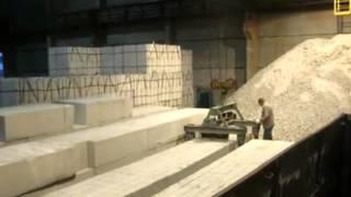 Купянский газоблок (не пакетированный), загрузка на заводе(, 2014-07-06T14:30:01.000Z)