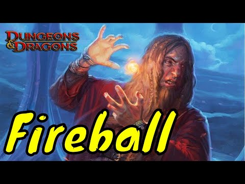 Fireball Spell D&D 5E - YouTube