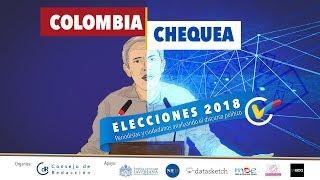 Participa en el foro Colombia chequea - Elecciones 2018