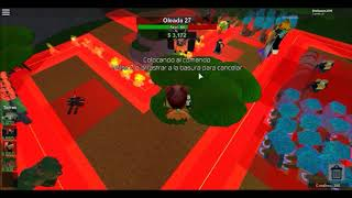 l Roblox Tower Battle l beating the final head of Tower Battle along with the kumpas