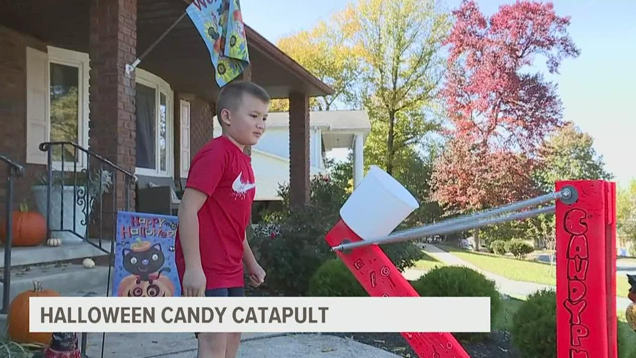 Trick-or-treat throughout a pandemic: 'Candypult' saves Halloween ...