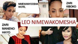 KIMENUKA! ZARI Aonyesha KICHAA Chake Rasmi, Hamisa, Tanasha, Wema Waangua Kilio