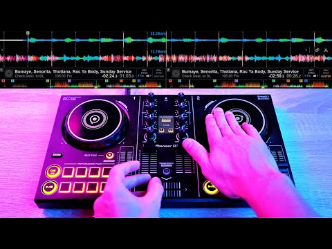 "PRO DJ DOES INSANE DJ TRICKS ON THIS ""TOY CONTROLER"" - Fast and Creative DJ Mixing Ideas"