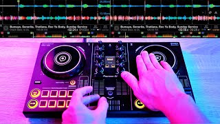 PRO DJ DOES INSANE DJ TRICKS ON THIS TOY CONTROLER - Fast and Creative DJ Mixing Ideas