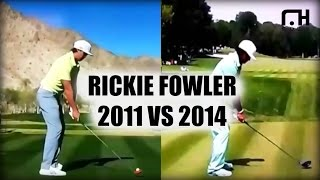 Rickie Fowler: Analysis 2014 Swing Vs 2011