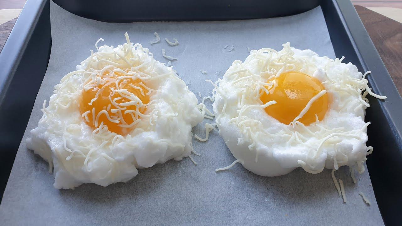 아침에 계란을 만드는 새로운 방법, 건강하게 계란을 드세요