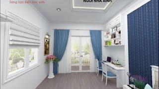 Nhà Xinh - Thiết kế nội thất phòng ngủ đẹp dành cho bé trai