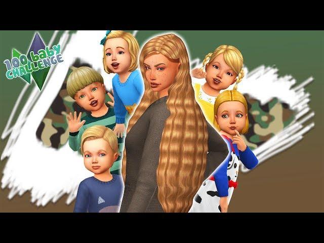 100 Baby Challenge S04E04    Elveszik a gyerekeket?! // THE SIMS 4