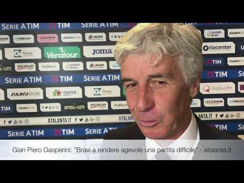 """Gian Piero Gasperini: """"Bravi a rendere agevole una partita difficile"""