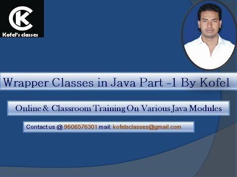 Wrapper Class Part 1 by kofel