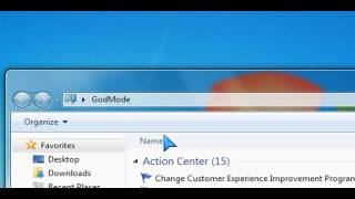 GodMode Windows 7 Tip - How to enable it