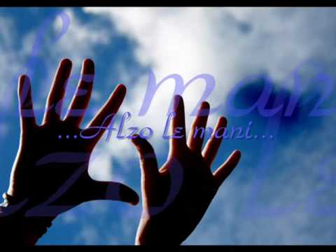 Alzo le mani