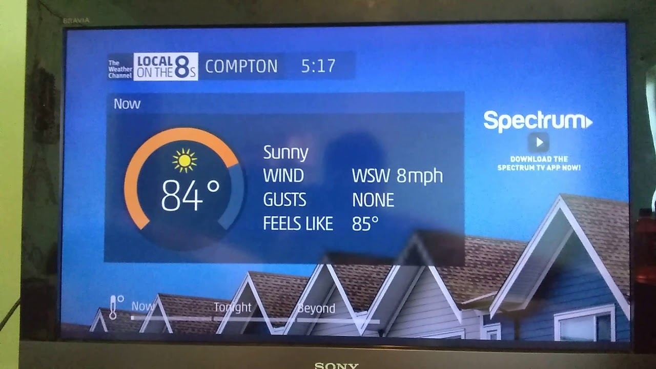 The Weather Channel – Local on the 8s (8/2/2019 5:18 PM