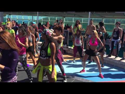 Beto Perez and Co for the  Zumba Cruise 2016