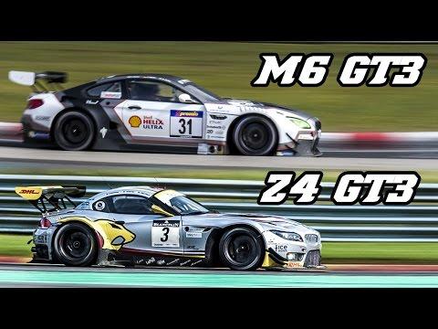 Sound comparison - BMW F13 M6 GT3 vs E89 Z4 GT3