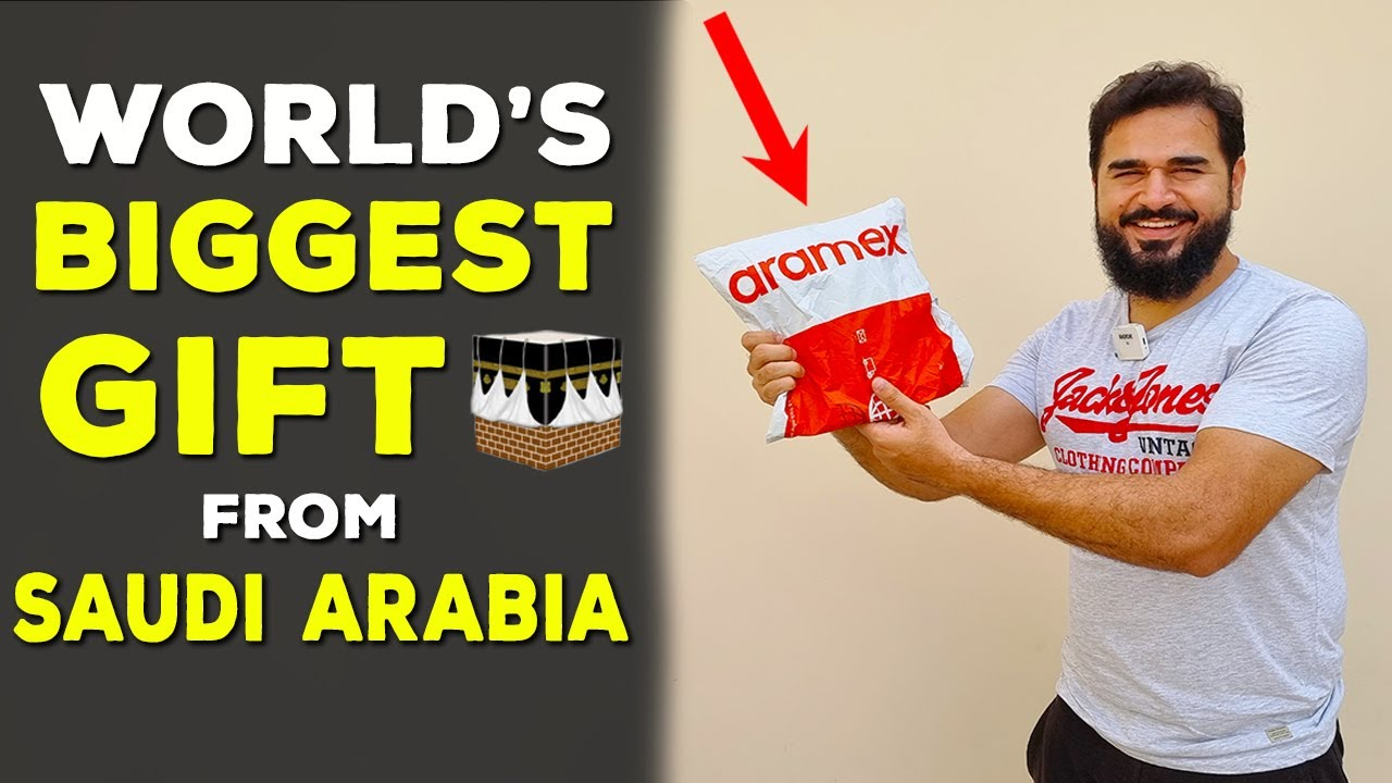 I received World's Most Prestigious Gift from Saudi Arabia