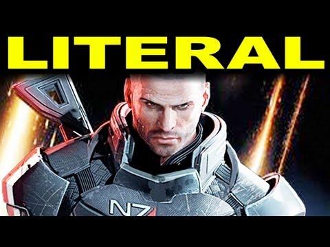 LITERAL Mass Effect 3 Trailer