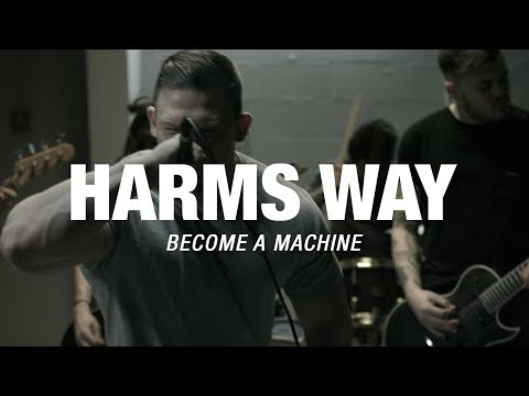 """Harm's Way """"Become a Machine"""" (OFFICIAL VIDEO)"""