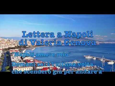 Napoli Amore Mio La Bellissima Lettera Di Valeria Genova Youtube