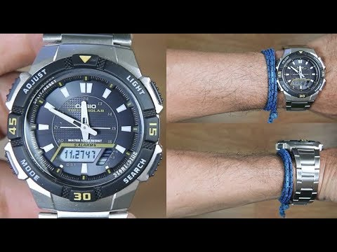 CASIO STANDARD AQ-S800WD-1EV TOUGH SOLAR - UNBOXING