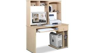 Compact Desk With Hutch By Nexera