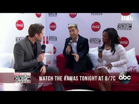 Matthew Morrison Red Carpet Interview - AMAs 2014