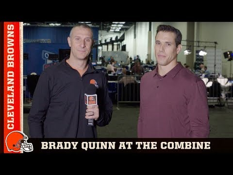 Brady Quinn On 2019 NFL Draft Class, Combine & More | Cleveland Browns