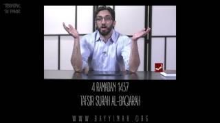 Download Tafsir: Surah al-Baqarah - Nouman Ali Khan - Day 4