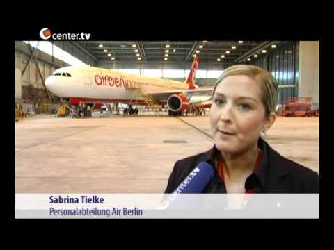 """""""GirlsDay"""" in der airberlin technik Düsseldorf"""