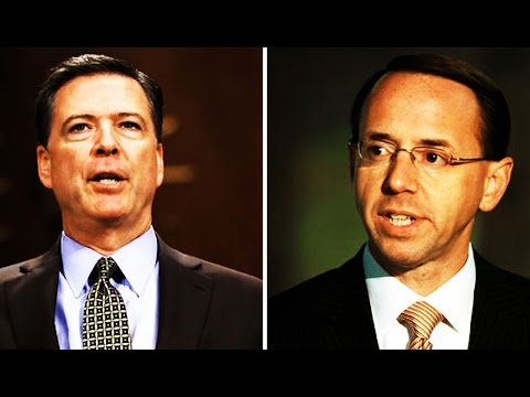 James Comey Was Worried Rod Rosenstein Made Promises to Trump