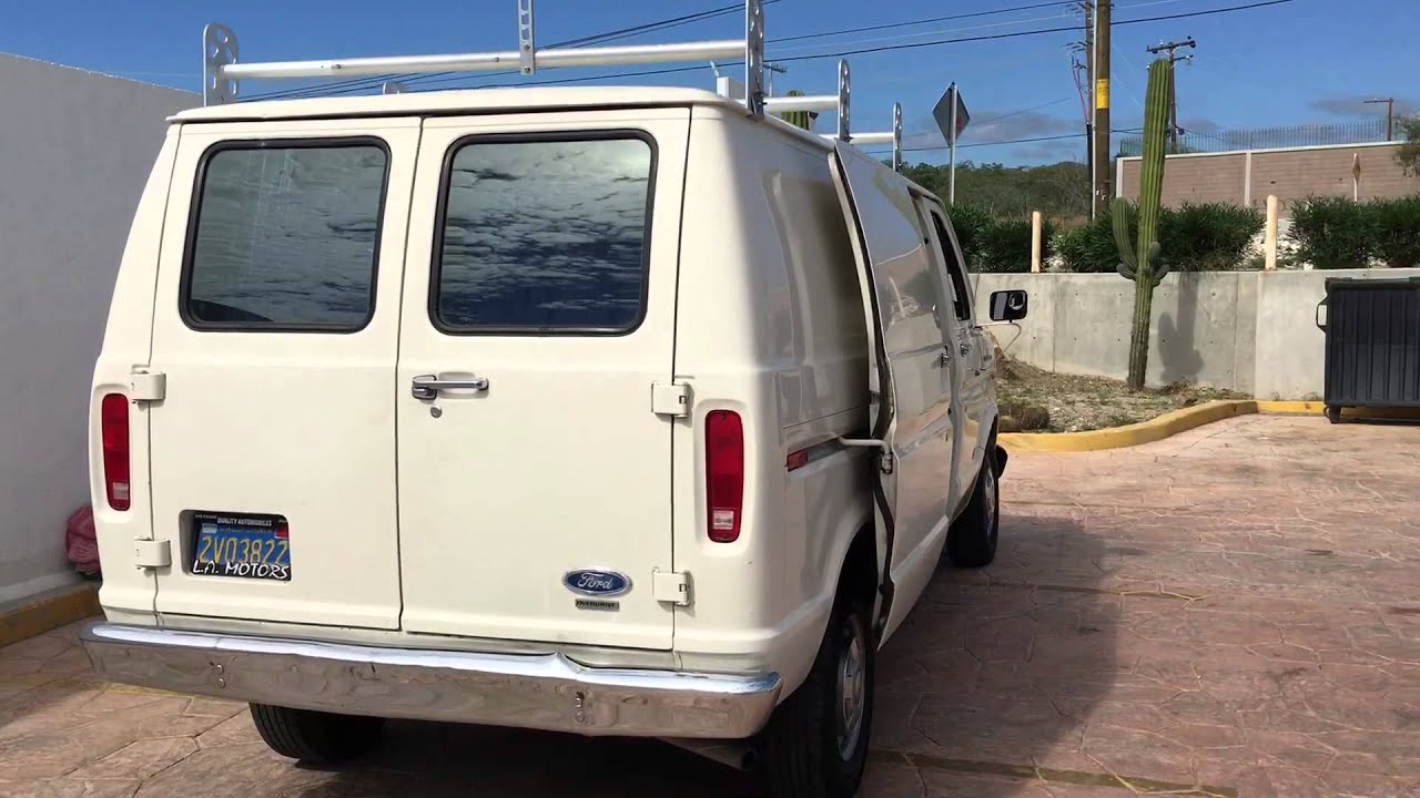 1986 Ford Econoline Camper Campervan For Sale