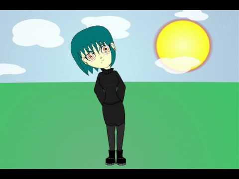 Test Animation Gothic Girl
