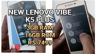 Lenovo Vibe K5 plus 3Gb RAM Unboxing and Review