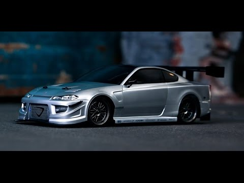 Vaterra 1/10 Nissan Silvia G spec (Brushed) RC Car - YouTube