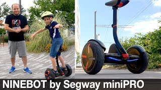 Ninebot by Segway miniPRO : présentation complète et test du gyropode !