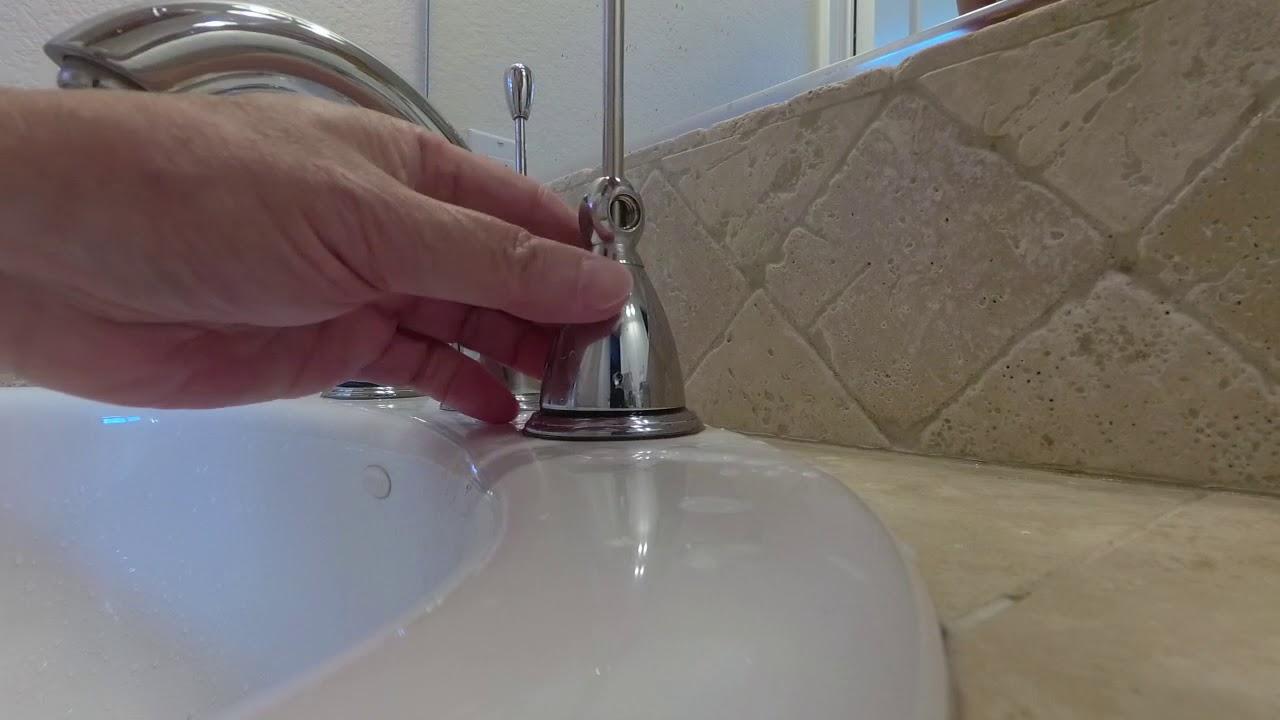 dripping kohler bathroom faucet