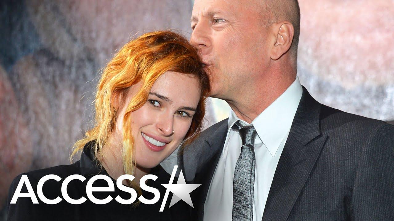 Bruce Willis Interrupts Daughter Rumer's Body Positivity Video